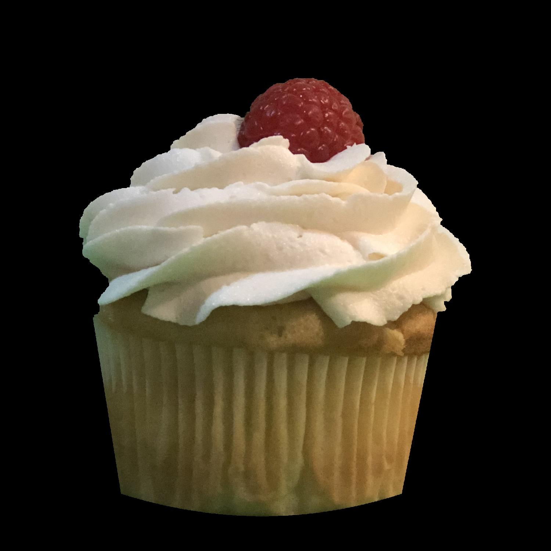 Bakewell Cupcake