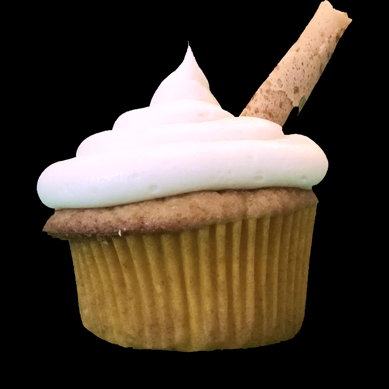 Root Beer Float Cupcake