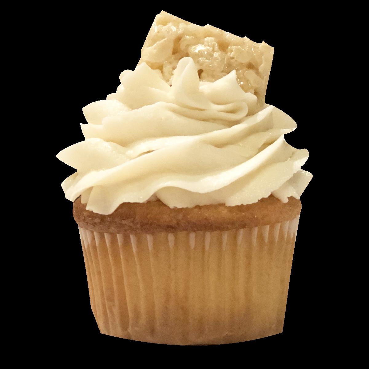Rice Krispies Cupcake