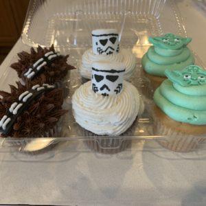 Star Wars 6-pack Cupcakes